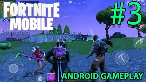 fortnite android gameplay xiaomi mi mix   youtube