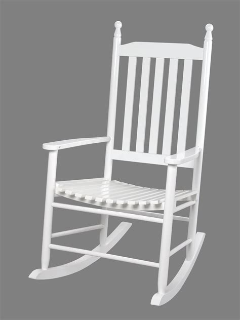 gift back rocking chair white