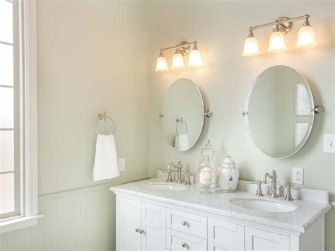 Best Brushed Nickel Bathroom Mirror