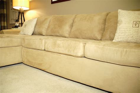 Reupholstered Sofa by How To Make An New Again For 10 Living Rich