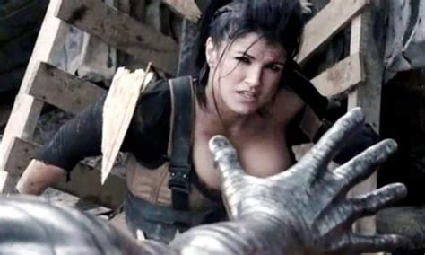 Gina Carano Upset Over Her Nude Photo Being Taken Off