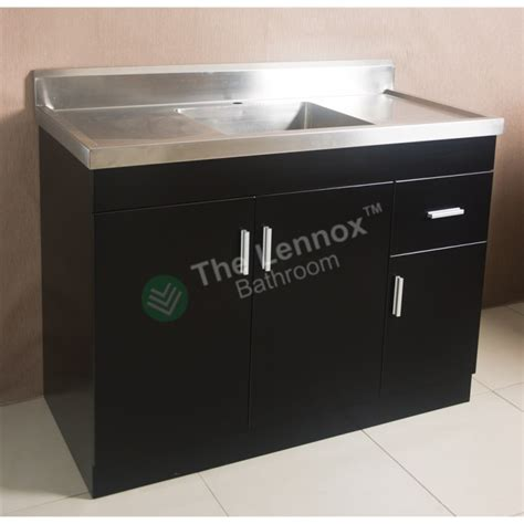 sink cabinet sepia  black