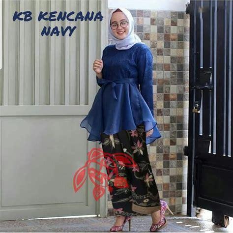 Setelan Kebaya Tille Rok Kode 001 setelan baju kebaya brukat tile rok batik modern ryn fashion