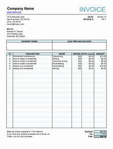 free fillable invoice form free invoice templates With download fillable invoice form pdf