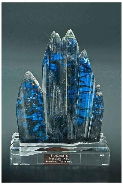 Tanzanite Minerals Crystals Gems Rocks Geology Gemologist