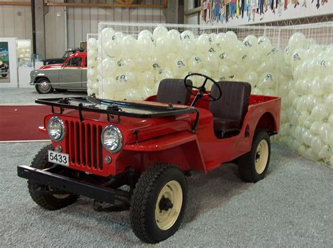 Jeep Willys Mb 1943 Car Interior Design