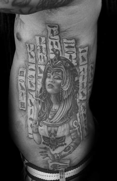 30 Hieroglyphics Tattoo Designs For Men - Ancient Egyptian