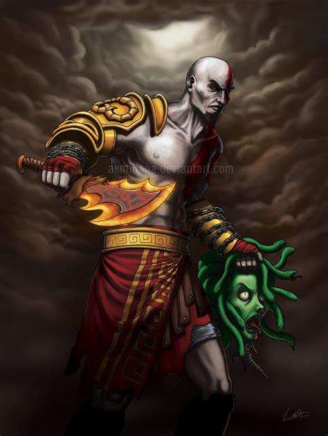 God Of War Kratos By Leamatte On Deviantart