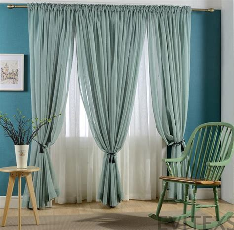 new sale finished curtains for windows gauze voile