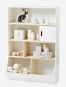 Kinderzimmer Regal Weiß : vertbaudet regal f r kinderzimmer in wei natur ~ Orissabook.com Haus und Dekorationen
