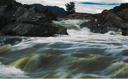 River Mekedatu Cauvery Flow Flows Drop Bangalore