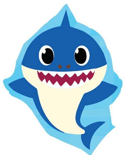 stikcers  imprimir baby shark fiesta de tiburon