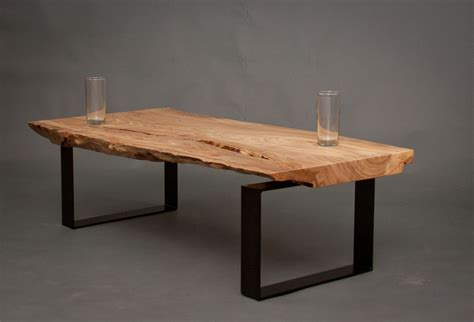 Hand Made Ellington Reclaimed Elm Wood Coffee Table By