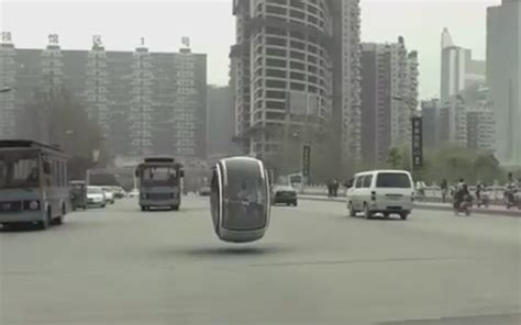 Volkswagen Hovering Car Floats Above Streets