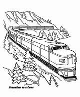 Coloring Train Steam Pages Getdrawings sketch template