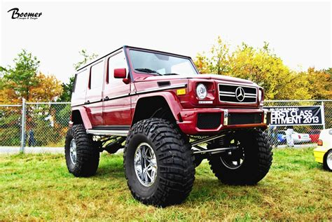 This Gclass Wants To Become A Monster Truck Autoevolution
