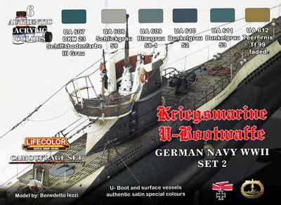 lifecolor german wwii kriegsmarine  boat set  ml
