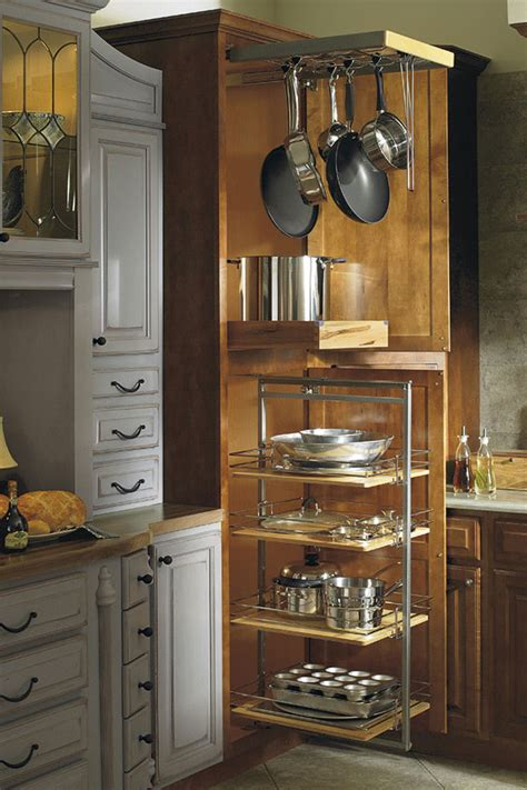 kitchen storage cabinets for pots and pans thomasville organization utility storage with pantry