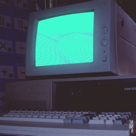 cool animated retro  funny computer gifs  animations