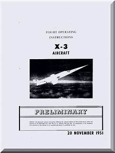 Douglas X-3  U0026quot  Stiletto  U0026quot  Aircraft Flight Manual