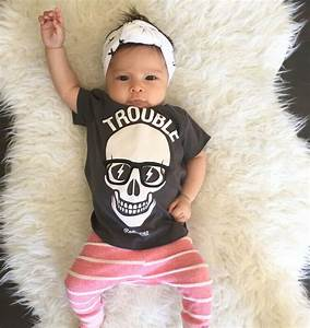 Trouble! Cute baby girl outfit : hipster kid fashion ...