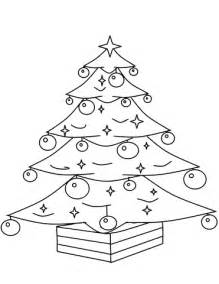 christmas ornament tree to color tree with ornaments coloring page free printable coloring pages