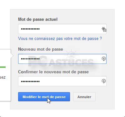 Modification Mot De Passe Gmail by Changer Mot De Passe Tous Les Navigateurs