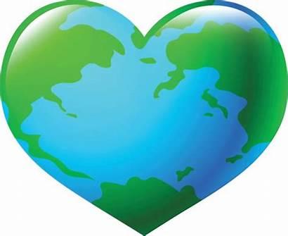 Heart Clipart Globe Shape Vector Clip Sustainable