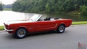 1965 Ford Mustang Convertible 50th Anniversary original show car