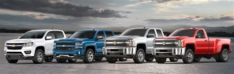 2018 Chevy Truck Lineup In Liberty, Mo  Heartland Chevrolet