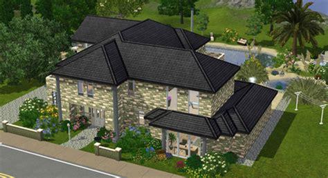 Moderne Häuser Sims 2 by Zwei Neue Kostenlose H 228 User Auf Simtimes Simtimes