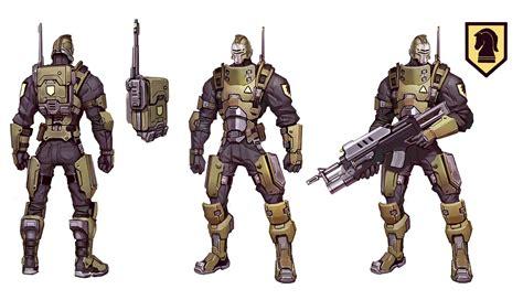 peacekeeper character design mentalmars