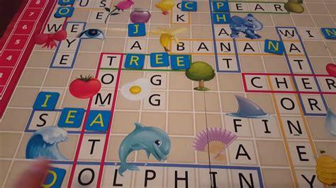 Scrabble Juniorjuegos De Mesa Para Niños Youtube
