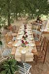 Rustic Wedding Table Decoration Ideas | Rustic outdoor garden party ideas