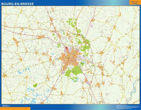 Plan Carte Bourg En Bresse