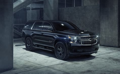 Chevy New Tahoe Custom Midnight The Black Ops Car
