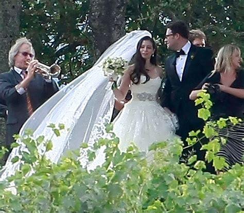 seth rogen  laura miller  celebrity weddings