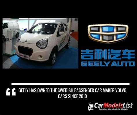geely car models list complete list   geely models