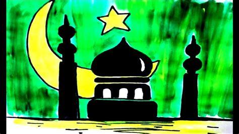 special eid mubarak drawing step  step  kidsgreeting