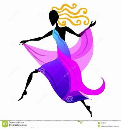 Dancer Female Dancing Clip Danzatore Femminile Figura