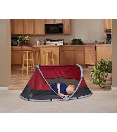 Kidco Peapod Travel Bed by Kidco Peapod Travel Bed Cranberry
