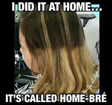Hairstylist Memes - color correction omg a cautionary tale funny things salons and hairstylists