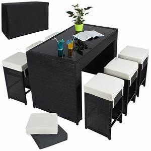 Table De Jardin Tressé : table haute salon de jardin rotin r sine tress ~ Nature-et-papiers.com Idées de Décoration
