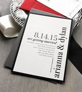 Unique Wedding Invitation Ideas - MODwedding