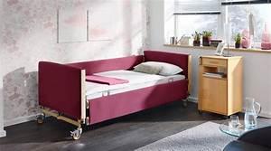 Seniorenbett 120x200 Elektrisch : pflegebett dali mit soft cover 24 volt antrieb burmeier ~ Orissabook.com Haus und Dekorationen