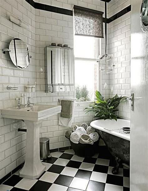 black  white checkered bathroom tile ideas  pictures