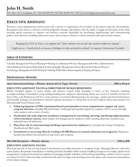 administrative assistant resume senior administrative assistant resume 10 free word