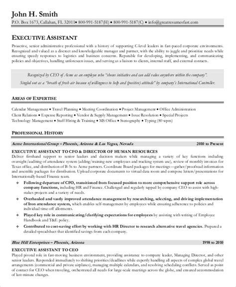 administrative assistant resume senior administrative assistant resume 10 free word