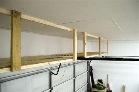 diy garage ceiling storage the owner