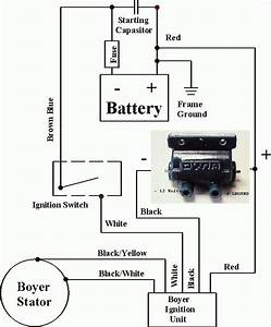 Ignition Coil Condenser Wiring Diagram